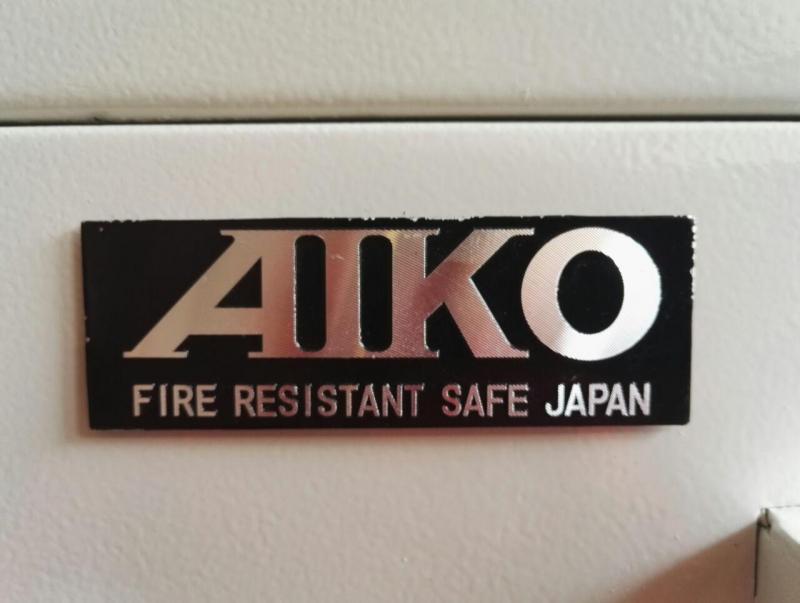 <strong>گاو صندوق</strong> دیجیتال نسوز AIKO CS110